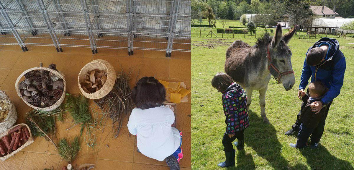 Baratze un recuerdo permanente en la granja escuela