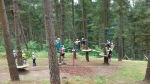tirolina campamentos